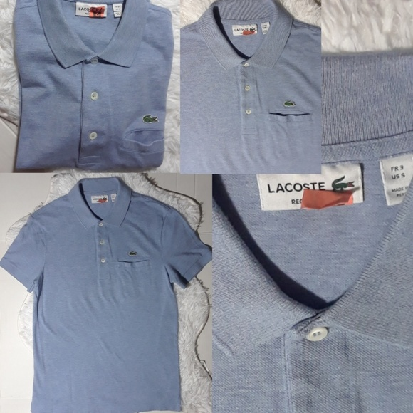 Lacoste Tops - Lacoste Short Sleeve Polo Shirt- Size S